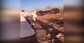 بالفيديو.. العناية الإلهية تنقذ شابا من حادث سير مروع