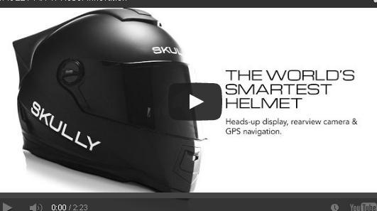 بالفيديو خوذة ذكية ثورية لسائقي الدراجات النارية  تعمل بنظام أندرويد
