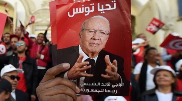النتائج الأولية للانتخابات الرئاسية في تونس