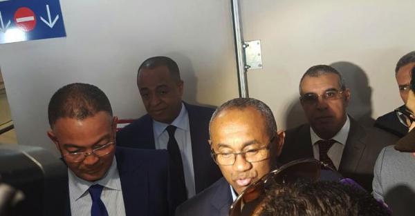 الرئيس الجديد للكاف : هدية محمد السادس ساعدتني على هزم حياتو