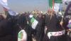 شيعة الجزائر رفعوا العلم الوطني في سماء كربلاء لأول مرة
