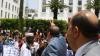 """إدريس لشكر يتزعم وقفة احتجاجية أمام البرلمان ضد """"زيرو ميكا"""""""