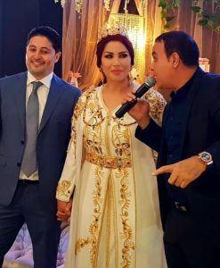 سعيدة شرف تكشف عن زوجها الثاني لأول مرة في حفل خطوبة شبيه بعرس صور وفيديو