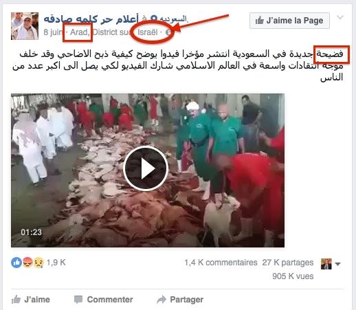هل تقف اسرائيل وراء نشر فيديو أثار سخط العالم بسبب طريقة ذبح الأضاحي الوحشية بالحج الفيديو