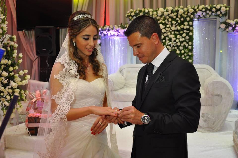 f71afed63215a شاهد .. صور جديدة من حفل زواج المدرب الاسباني لوبيرا بفتاة تطوانية