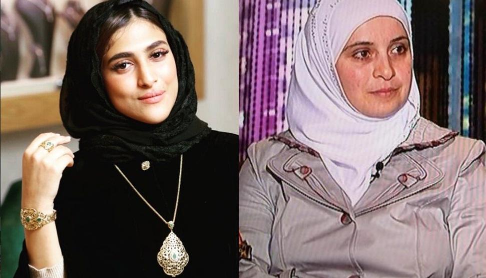 87db7d61a10e0 المغربية أمينة كرم تكشف عن الاساءة التى تعرضت لها من طرف زوجة مدير قناة