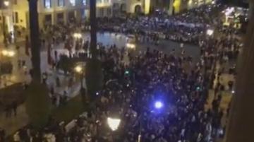 عاجل..مسيرة حاشدة للأساتذة المتعاقدين بشوارع الرباط واعتصام أمام البرلمان واجتماع مرتقب بين الوزارة والتنسيقية (فيديو)