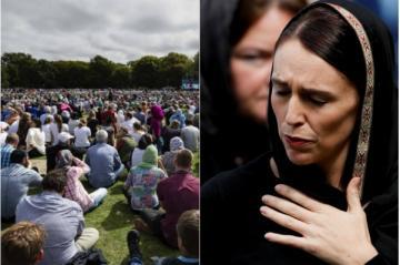 رئيسة وزراء نيوزيلاندا تستشهد بحديث نبوي شريف في أول جمعة بعد